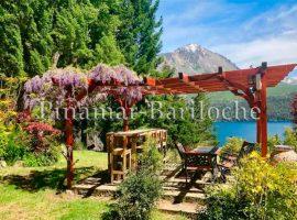 Lago Gutierrez, alquiler casa con vista al lago para 6 personas