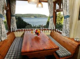 Bariloche Alquileres -casa Con Costa De Lago Y Muelle Km13 -1071