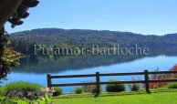 cabaña con costa de lago en bariloche 1068