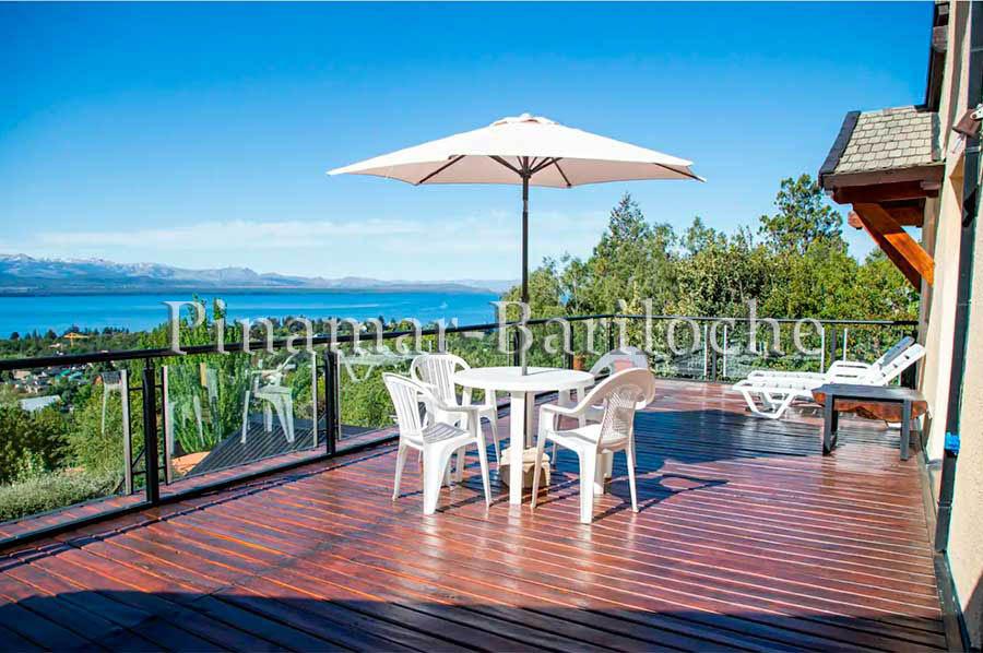 Alquiler Bariloche Vista Al Lago Km 4.7 Av Pioneros 5 Dor