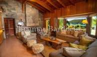 casa en alquiler con costa de lago y muelle en Bariloche