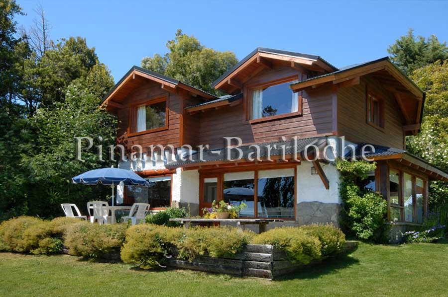 Alquiler Cabaña Frente Al Lago En Bariloche -1006
