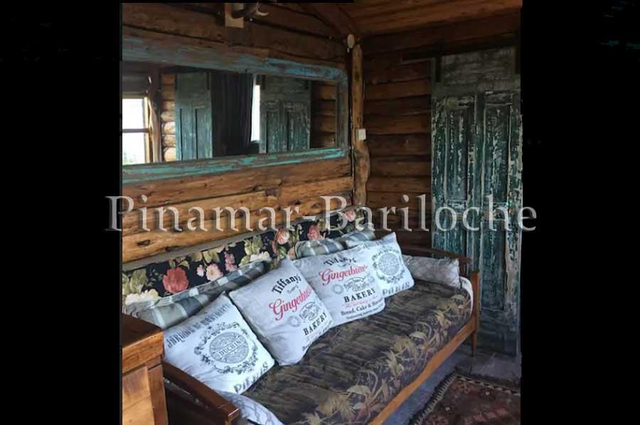 Cabaña En Alquiler Bariloche Para 2 Pers Con Costa De Lago – 1101
