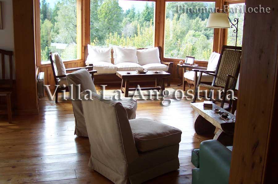 Alquiler Villa La Angostura, Casa Con 4 Dorm, Capac 10 Pers -708