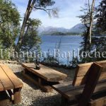 alquiler para 15 pers con costa de lago en peninsula de san pedro