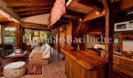 cabaña en bariloche para 2 personas con costa de lago